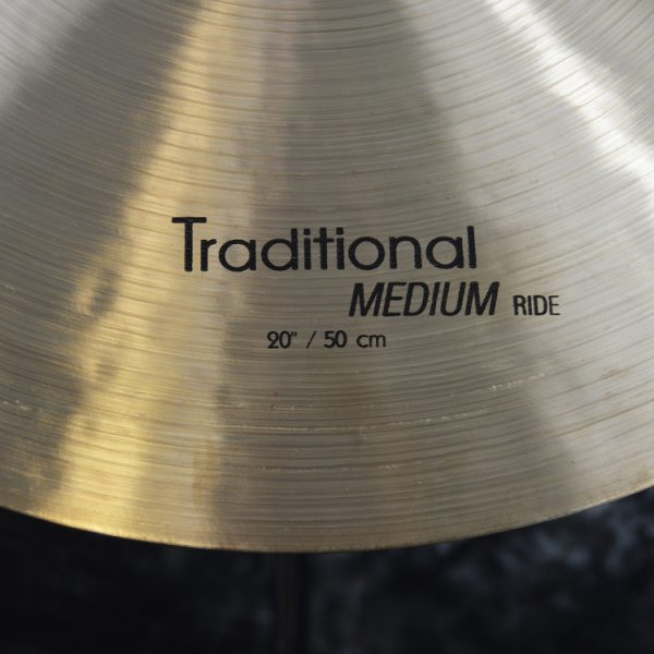 "Traditional20MediumRide3 600x600 - سنج راید ۲۰ اینچ استانبول آگوپ سری Istanbul Agop Traditional 20"" Ride"